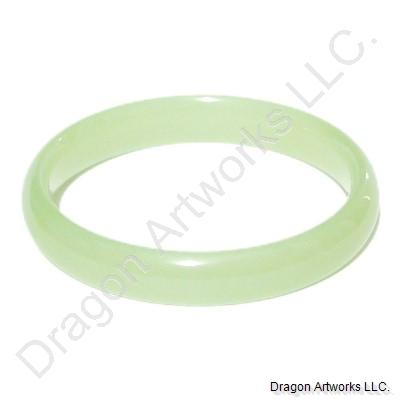 Green Jade Bangle of Diligence