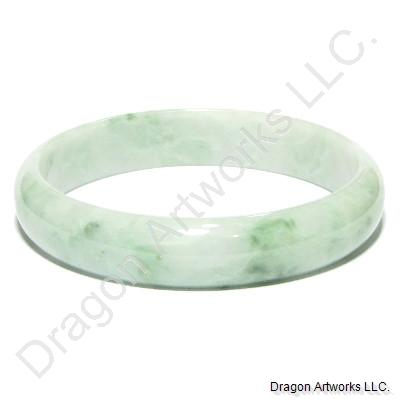 Green Jade Bangle Bracelet of Will Power