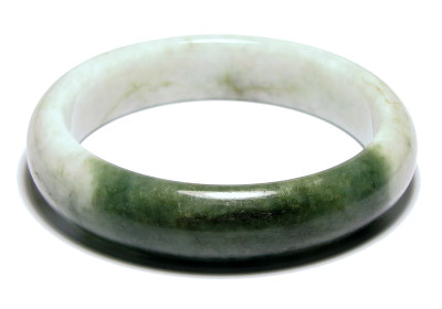 76e9cd701e8c3 Achieving Green Jade Bangle Bracelet