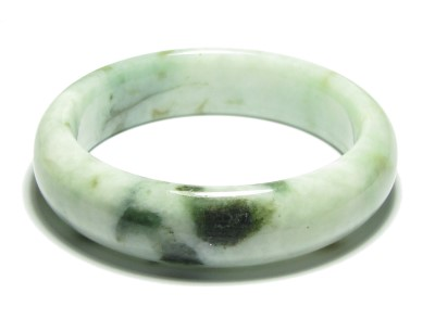 Adorable Mixed Green Jade Bangle of Bliss