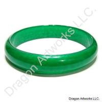 Amazing Emerald Green Jade Bangle