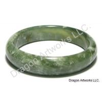 Charming Chinese Green Jade Bangle Bracelet